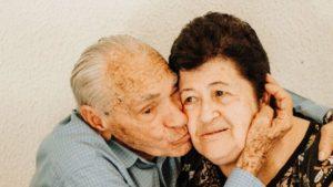 משפט זן על אהבה זוג מבוגר