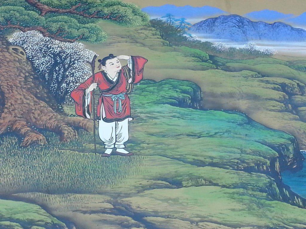 סיפור זן על זן בודהיזם מצוייר
