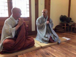 מורה רוחני תמיר מסאס וזן מאסטר צ'ונג א סונים