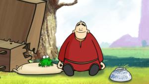 סיפור זן קצר על הנזיר והזבוב